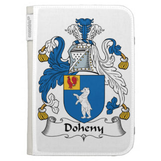 Doheny Family Crest Kindle Keyboard Cases