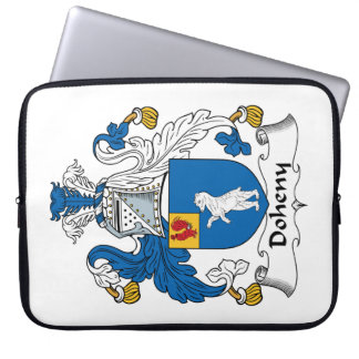 Doheny Family Crest Laptop Sleeves