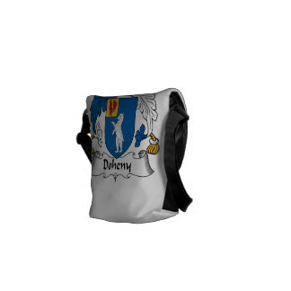 Doheny Family Crest Courier Bag