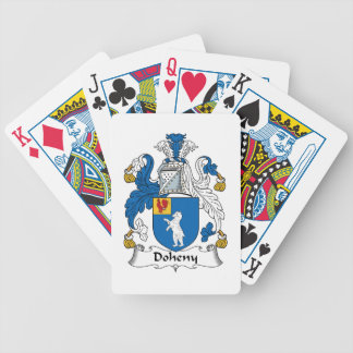 Doheny Family Crest Deck Of Cards