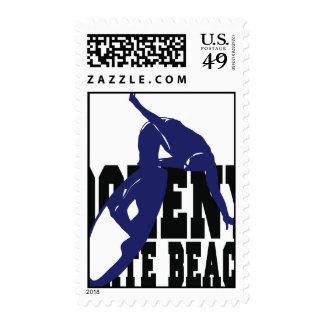 Doheny State Beach Surf Postage