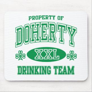 Doherty Irish Drinking Team Mouse Pad