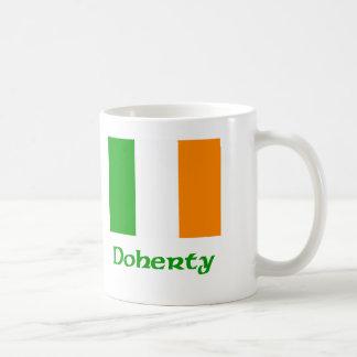 Doherty Irish Flag Mugs
