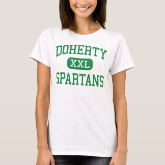 Doherty - Spartans - High - Colorado Springs T-Shirt