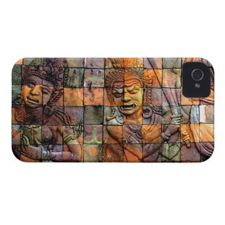 Doi Inthanon Chedi Carved Tiles 2 iPhone 4 Case
