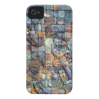 Doi Inthanon Chedi Carved Tiles iPhone 4 Cover