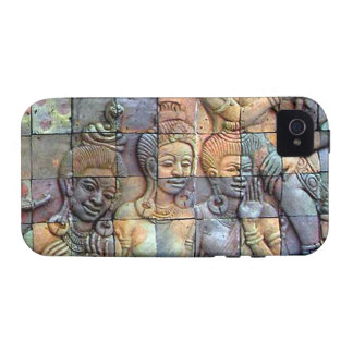 Doi Inthanon Chedi Carved Tiles iPhone 4 Covers