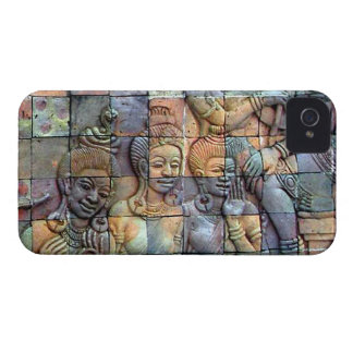 Doi Inthanon Chedi Carved Tiles Case-Mate iPhone 4 Case