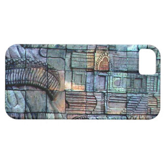 Doi Inthanon Chedi Carved Tiles iPhone SE/5/5s Case