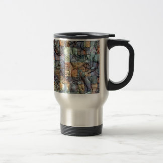 Doi Inthanon Chedi Carved Tiles Travel Mug