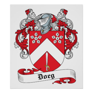 Doige Family Crest Posters