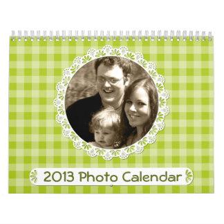 Doilies and Plaid 2013 Calendar