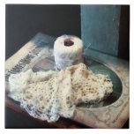 Doily and Crochet Thread Tiles