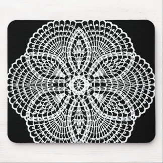 Doily Art Mouse Pad