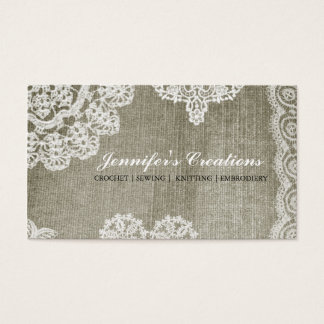 Doily Business Card