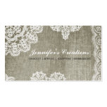 Doily Business Card Templates