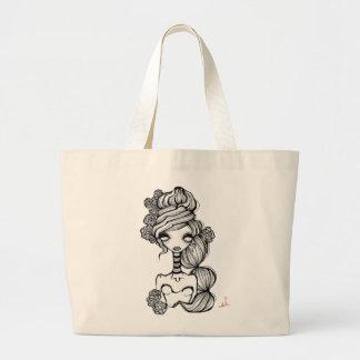 Doily Jumbo Tote Bag