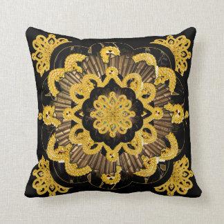 Doily Mandala Hippie Cushion Cover Design Throw Pillow