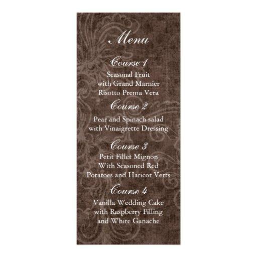 doily wrap rustic mason jar wedding menu rack cards