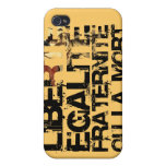 Doin it the French Way lights iPhone 4 Case