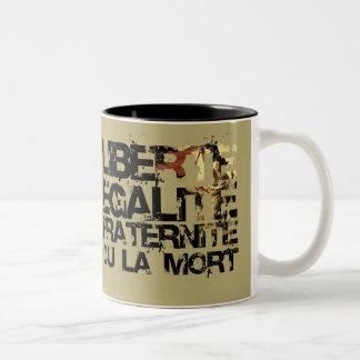 Doin' it the French Way! Two-Tone Coffee Mug