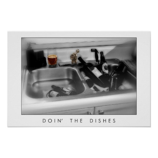 Doin' the Dishes Print