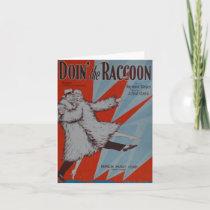 Doin' The Racoon Card