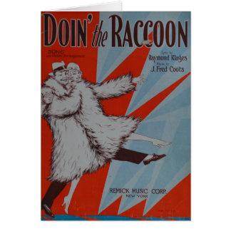 Doin The Racoon Cards