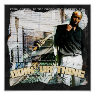 doin ur thing poster