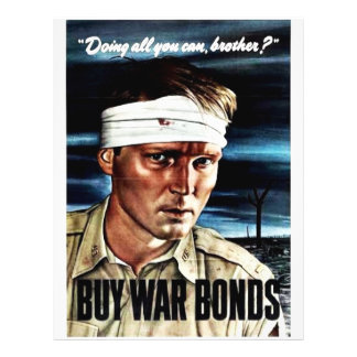 Doing All You Can, Brother? Buy War Bonds Flyers