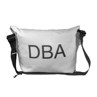 doing business as.ai messenger bag
