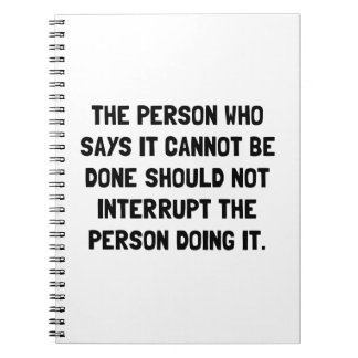 Doing It Notebook