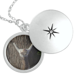 Doing Kitten Stuff Sterling Silver Necklace