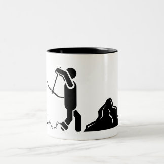 'Doing Time' Pictogram Mug