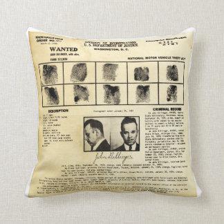 DOJ Identifcation order 1217 John Dillinger Pillows