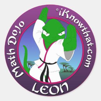 Dojo Leon Stickers