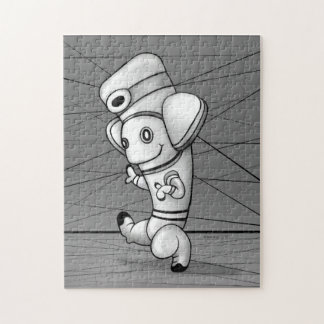 DOKO ALIEN CARTOON PUZZLE 11 X 14