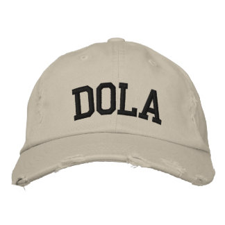 Dola Embroidered Hat Baseball Cap