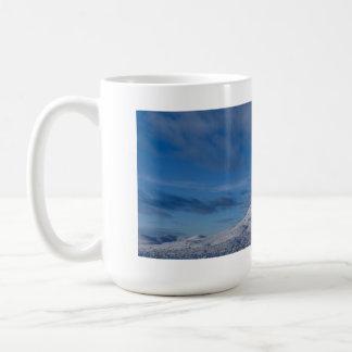 Dolan Desert Blanketed In Snow Coffee Mug