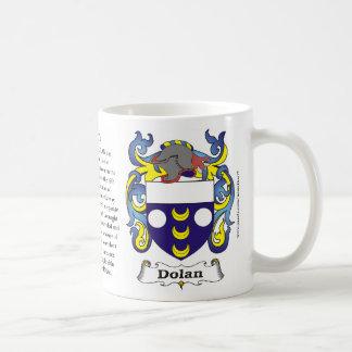 Dolan, origen, significado y el escudo en una taza