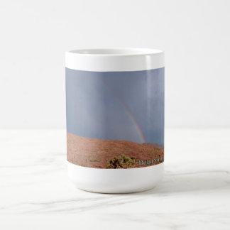 Dolan Springs, Arizona Rainbow Coffee Mug