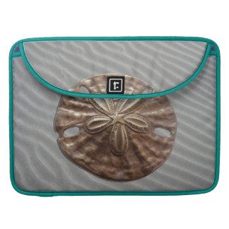 Dólar de arena de bronce fundas para macbook pro
