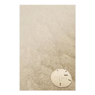 Dólar de arena elegante 3 inmóviles papeleria de diseño