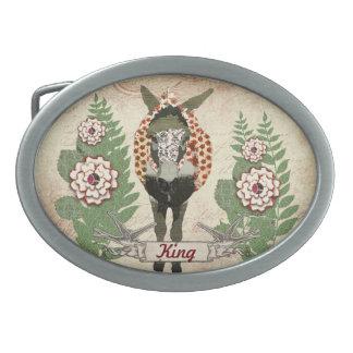 Dólar de la correa de la placa de identificación d hebilla de cinturon