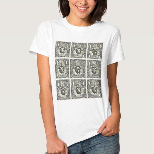 Dólar de la libertad camisas