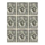 Dólar de la libertad postales