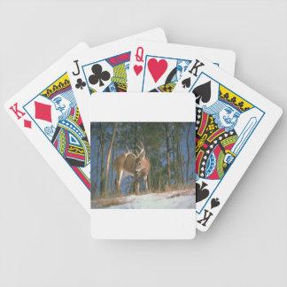 Dólar de los ciervos barajas de cartas