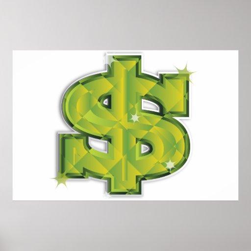 Dólar de los E.E.U.U. Póster