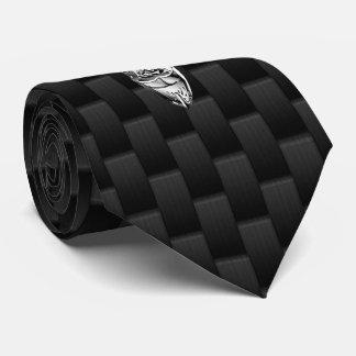 Dólar de plata de los ciervos en la decoración del corbatas