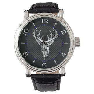 Dólar de plata en la decoración de la fibra de relojes de pulsera